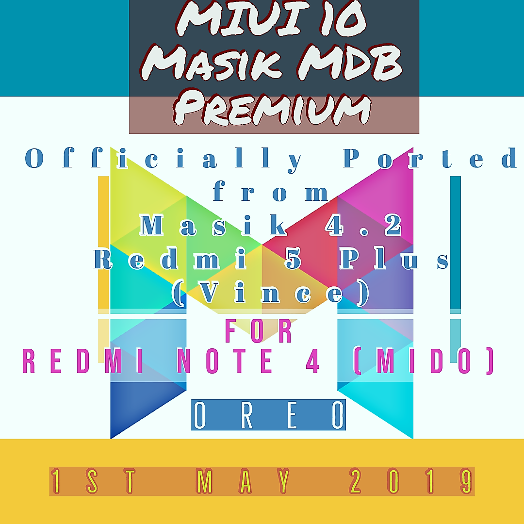 MASIK PREMIUM Mido P (XIAOMI REDMI NOTE 4X) [Video]