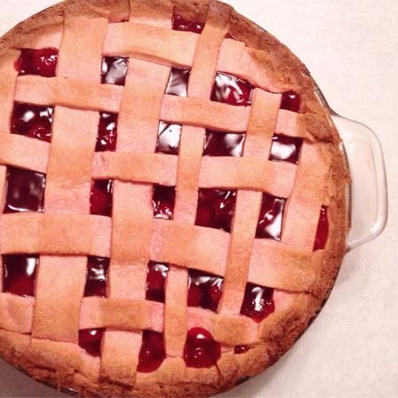 pink cherry pie