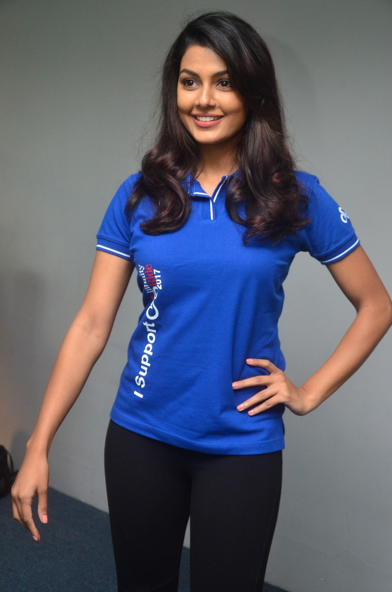 Anisha Ambrose at Infinity Ride 2017 Launch Stills