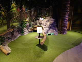 Sports World Mini Golf at O'Leary's in the Mall of Scandinavia