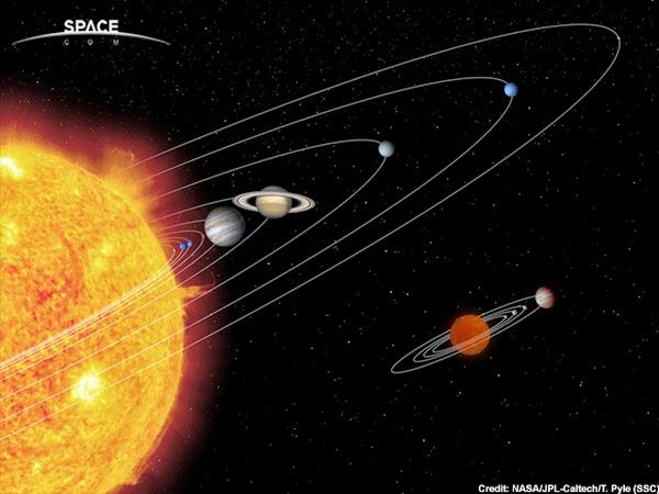 gravity planets solar system - photo #4
