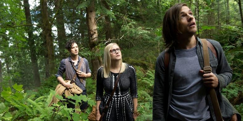 Quentin, Eliot y Alice en The magicians