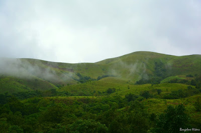 Kudremukh, trekking in lush green mountains