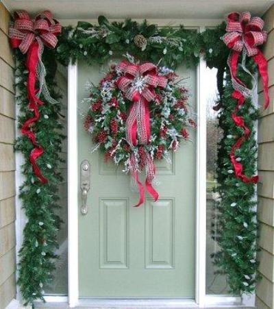 Christmas Wallpapers and Images and Photos: Christmas Door ...