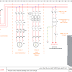 دائرة تشغيل مضخة ثلاثية الاطوار بواسطة مؤقت زمني Schéma d'une pompe pilotée avec une horloge