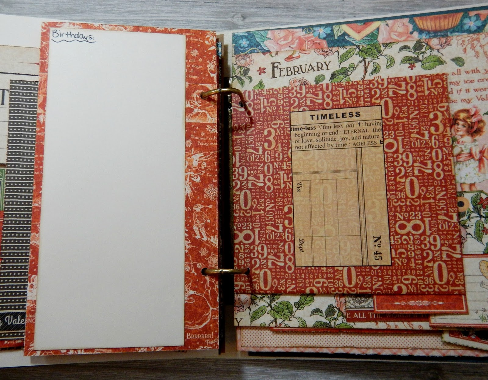 How to delete scrapbook photos google+ - Tip Add Different Size Papers And Fold Outs Into Your Planner To Add Some Extra Interest As Well As Give You More Space To Document Your Memories