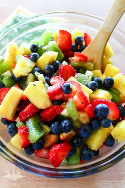 honey lime citrus fruit salad recipe