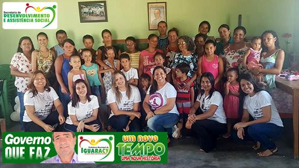 GOVERNO MUNICIPAL: Secretaria de Assistência Social participa do Projeto Rede Suas na Comunidade, desta vez na Ramada da Quixabeira e Caldeirões