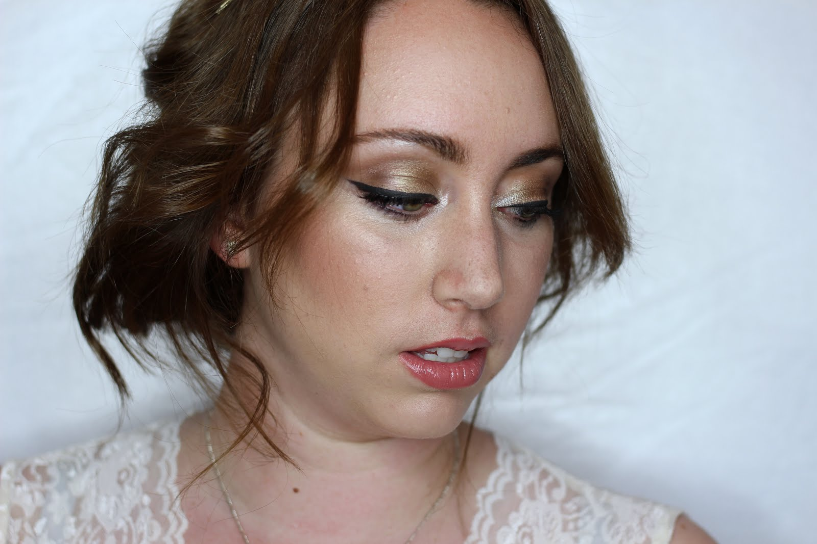 Tutorial: Classic Bridal Look