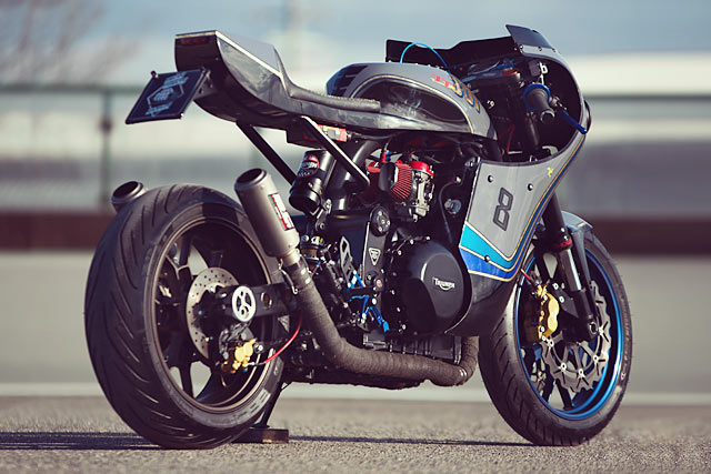 Triumph Speed Triple By Iron Pirate Garage Hell Kustom
