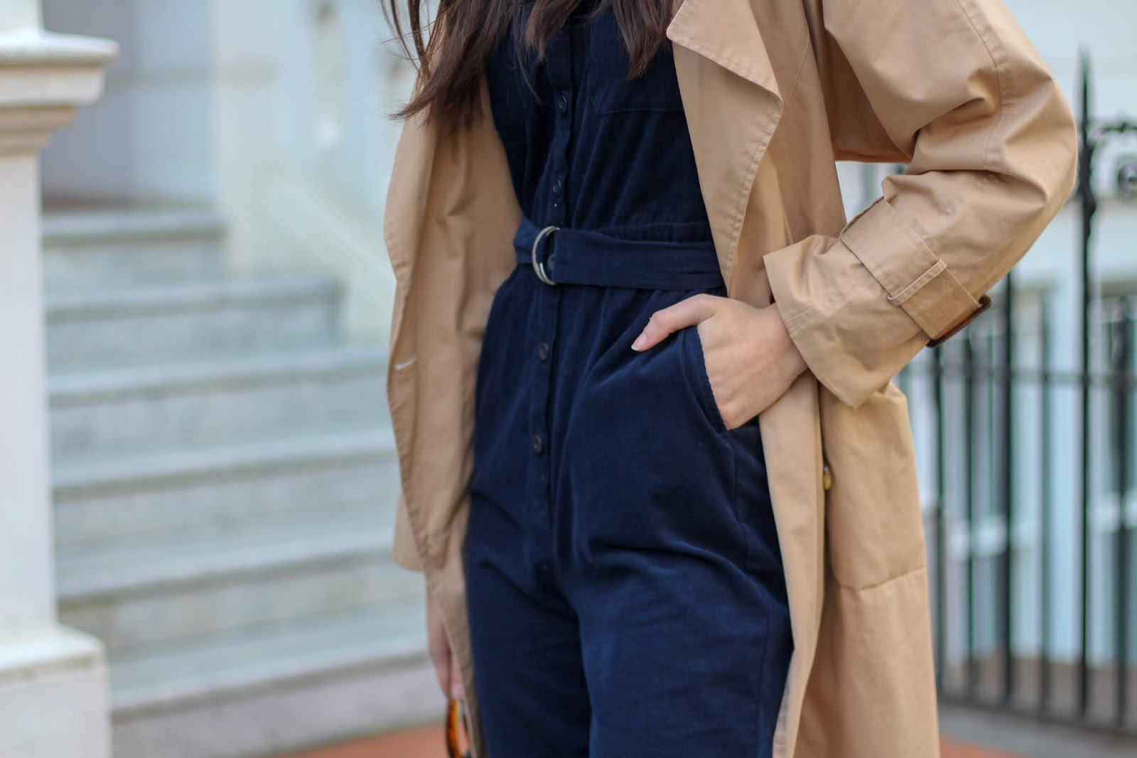 boiler suit trench coat