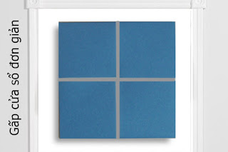 Cách gấp, xếp cửa sổ đơn giản bằng giấy origami - Video hướng dẫn - how to make a window