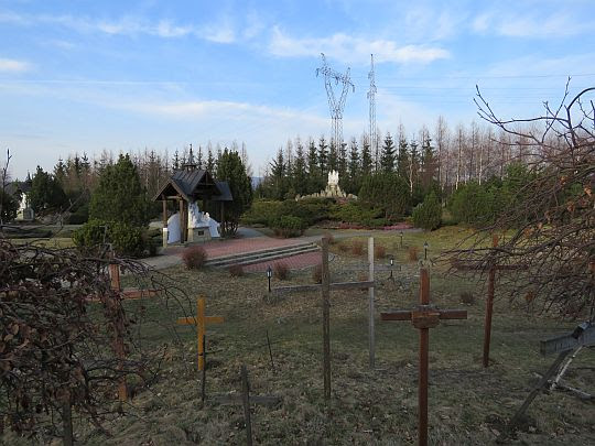 Ogród Różańcowy w Ludźmierzu.