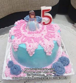 Birthday Cake Sofia The First Surabaya - Sidoarjo