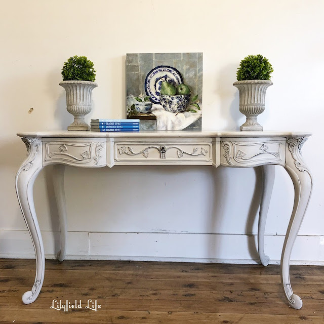 french style painted desk Lilyfield Life