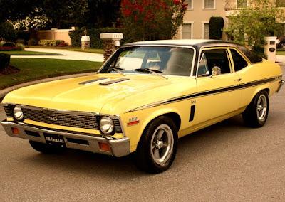 1972 Chevrolet Nova SS Sports Coupe Front Left