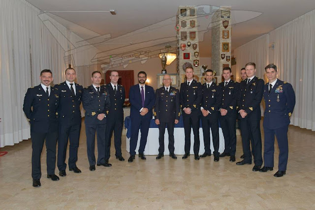 Italian Air Force graduates new Eurofighter pilots