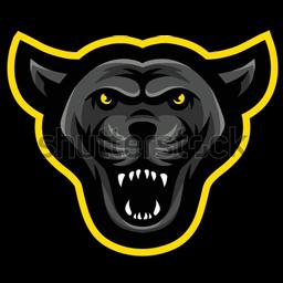 logo puma hitam