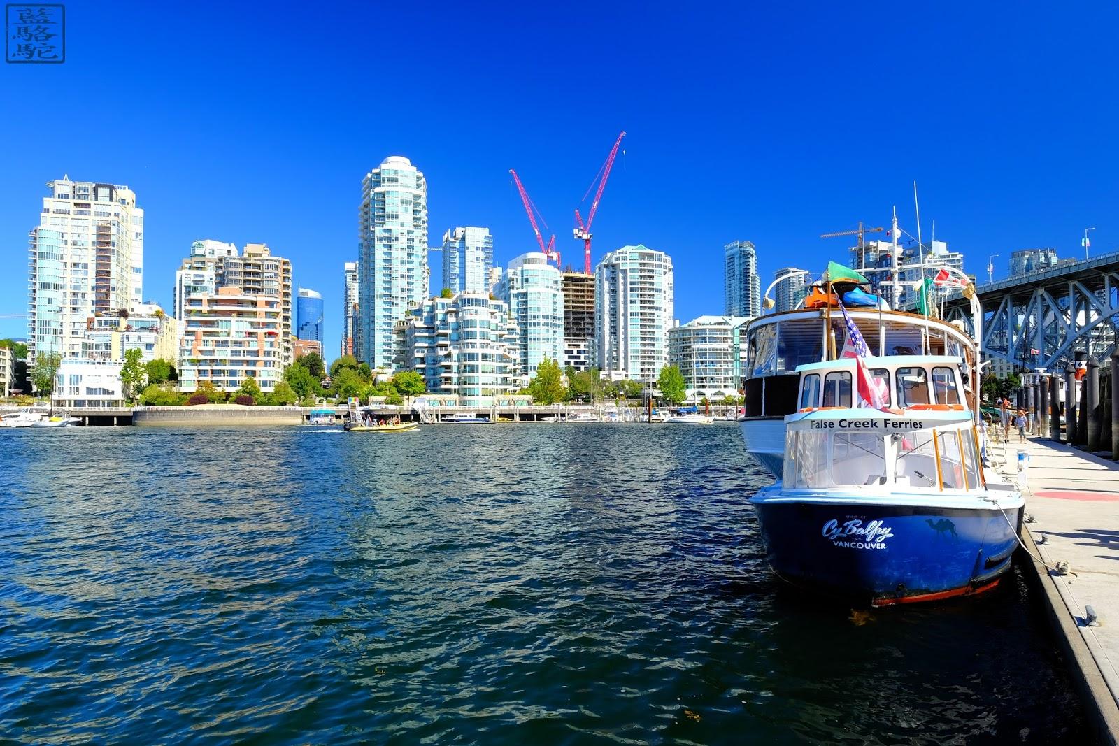 Le Chameau Bleu - Granville Island - Vancouver