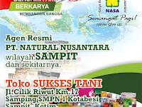Alamat Agen/Distributor Resmi NASA Wilayah Sampit