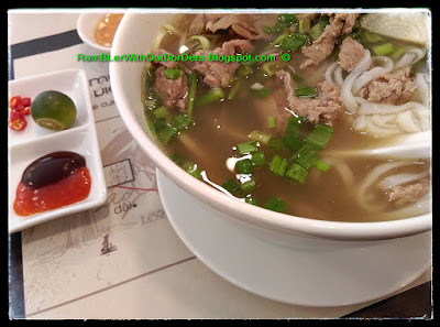 Beef Noddle, Yummy Viet, Singapore