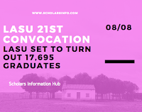 LASU 21st Convocation Ceremony