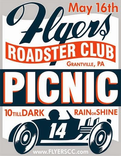 Flyers Roadster Club Picnic 16/5-2014