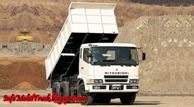 Mitsubishi fuso truk dam