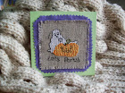 HALLOWEEN CROSS STITCH CARD