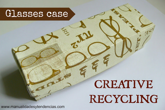 Funda de gafas reciclada / Recycled glasses case