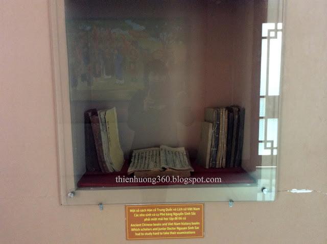 Một số sách Hán cổ Trung Quốc và lịch sử Việt Nam cụ Nguyễn Sinh Sắc học để thi