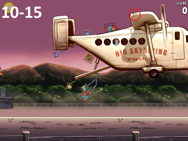 Angry Birds Rio - Airfield Chase 10-15