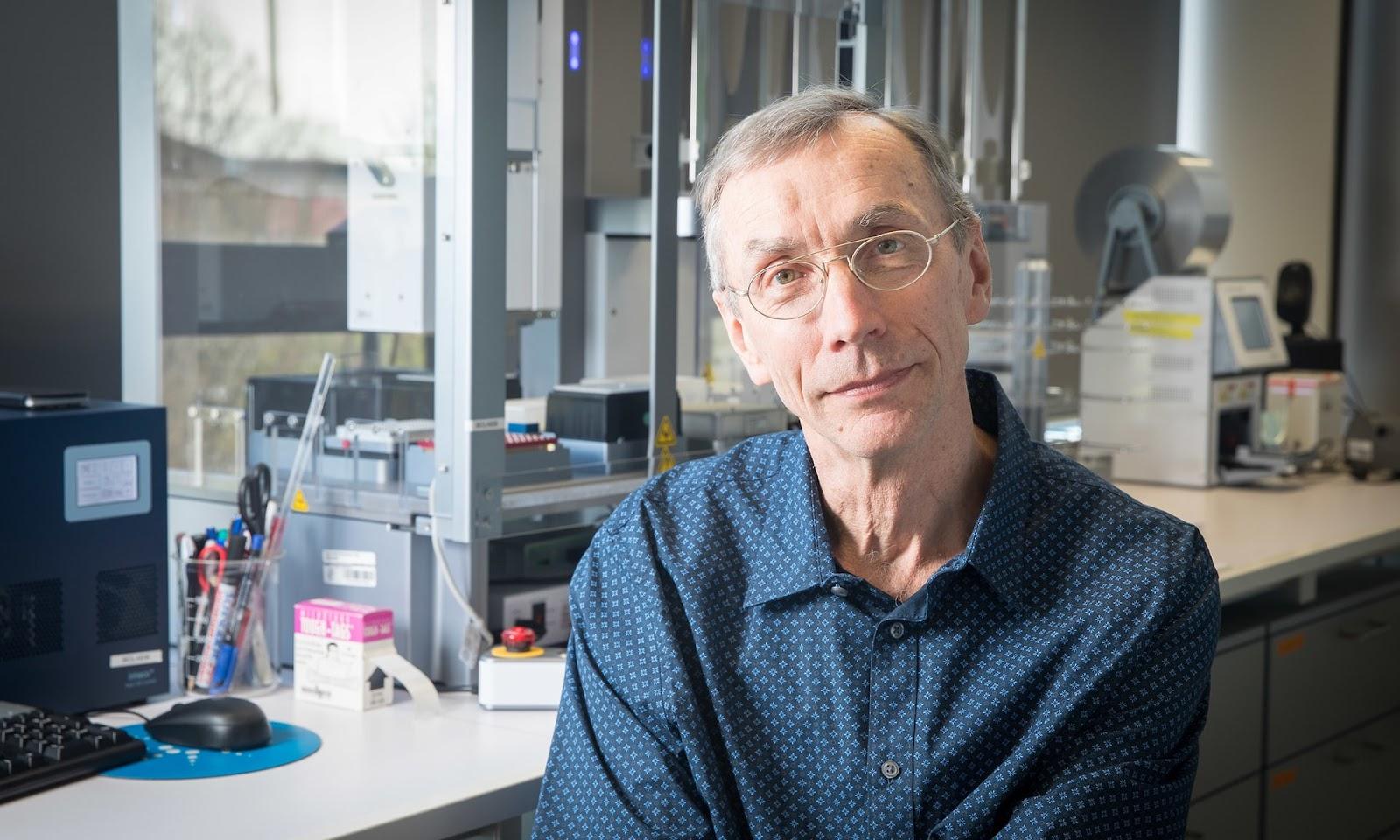 El profesor Svante Pääbo, director del genética evolutiva en el Instituto Max Planck Institute de Antropología Evolutiva. Foto: Christian Jungeblodt