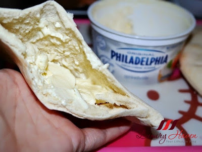 philadelphia cheese mission pita recipe ideas