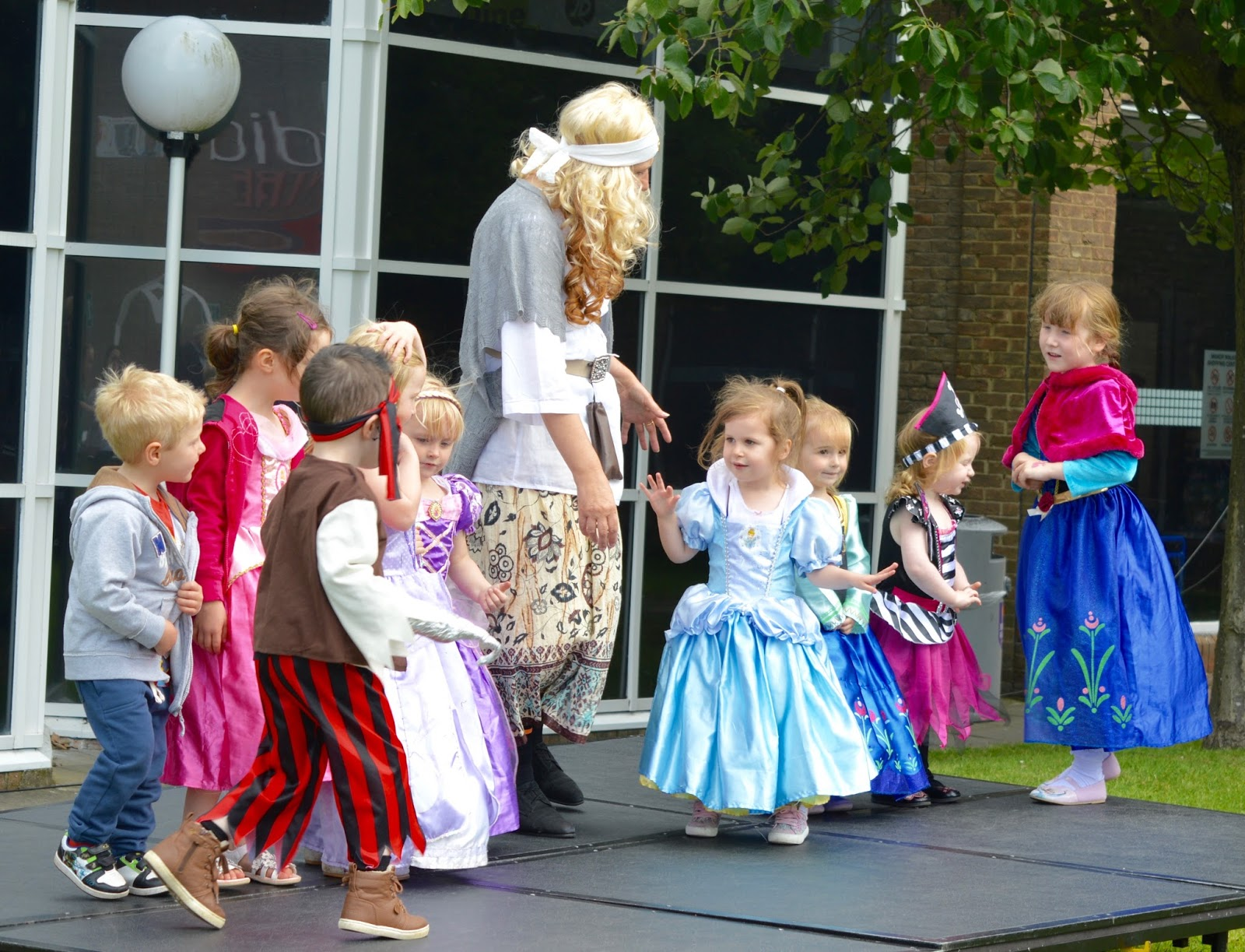 Pirates & Princesses Day at Manor Walks