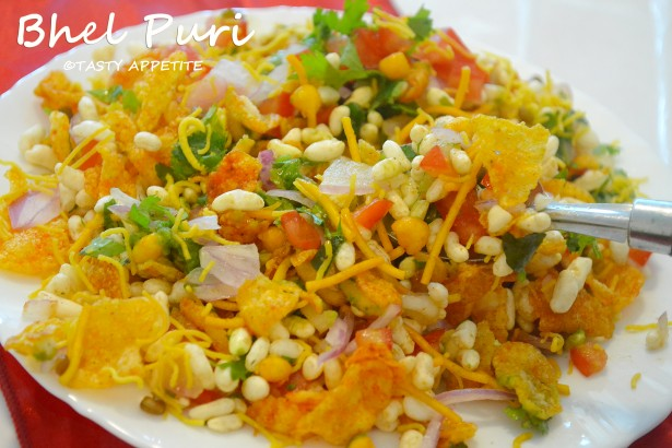 how to prepare bhel puri home