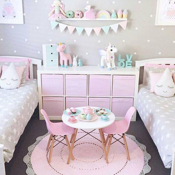 Pinterestita Creadora: Bellas Decoraciones para cuarto de niña