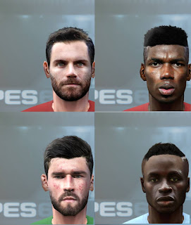 PES 6 Facepack EPL vol 1 by Solo_1200