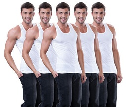 Dollar Lehar Vests for Men (Pack of 5) for Rs.258 Only @ ebay (Free Home Delivery)