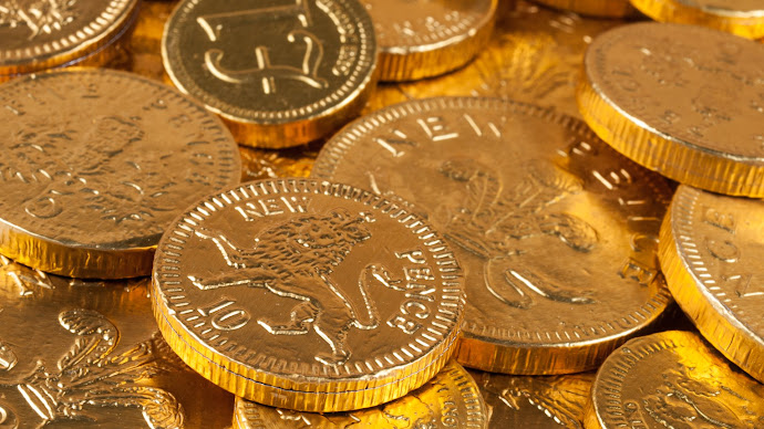 Wallpaper: Chocolate Coins