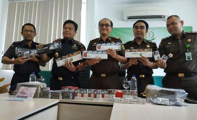 Bea Cukai Tangerang Gagalkan Peredaran Ratusan Ribu Batang Rokok Ilegal