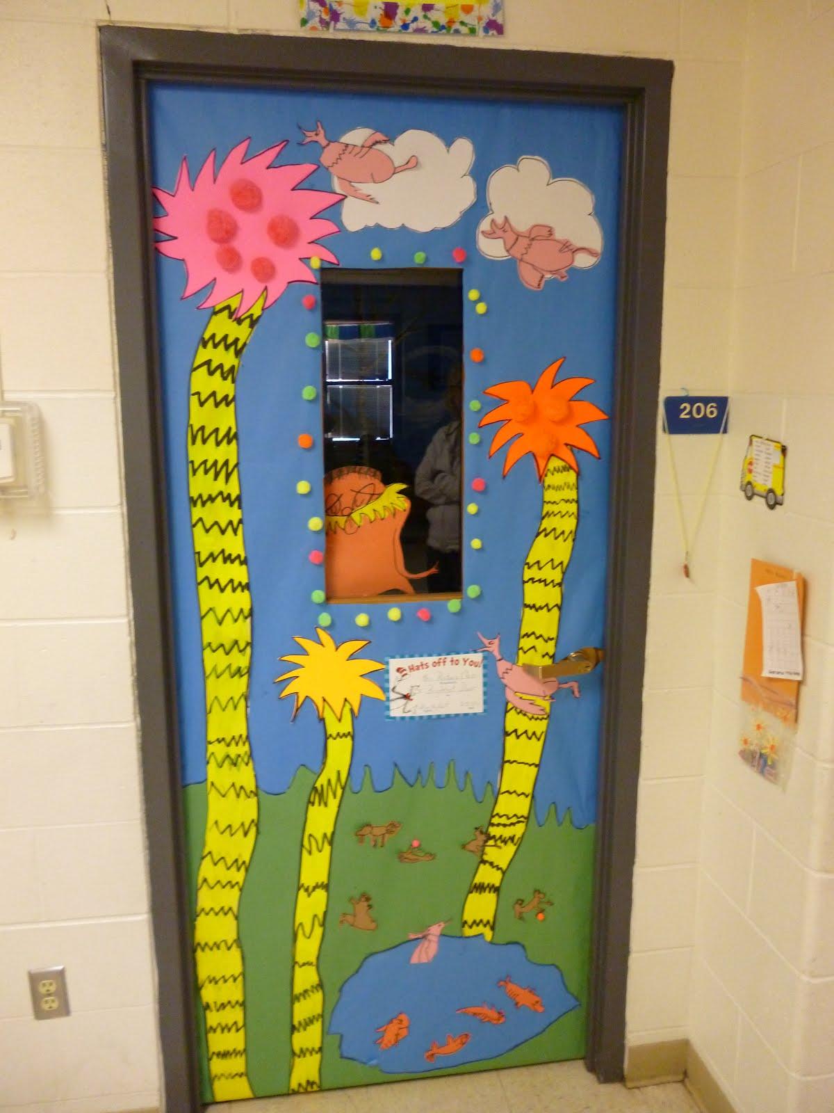 Seuss Door Decorating Results on Dr Seuss Bulletin Board Display