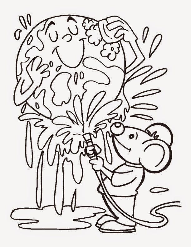 7 Earth Day Coloring Pages For Kids Preschool Kindergarten