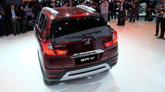 Honda WRV Indonesia 2016