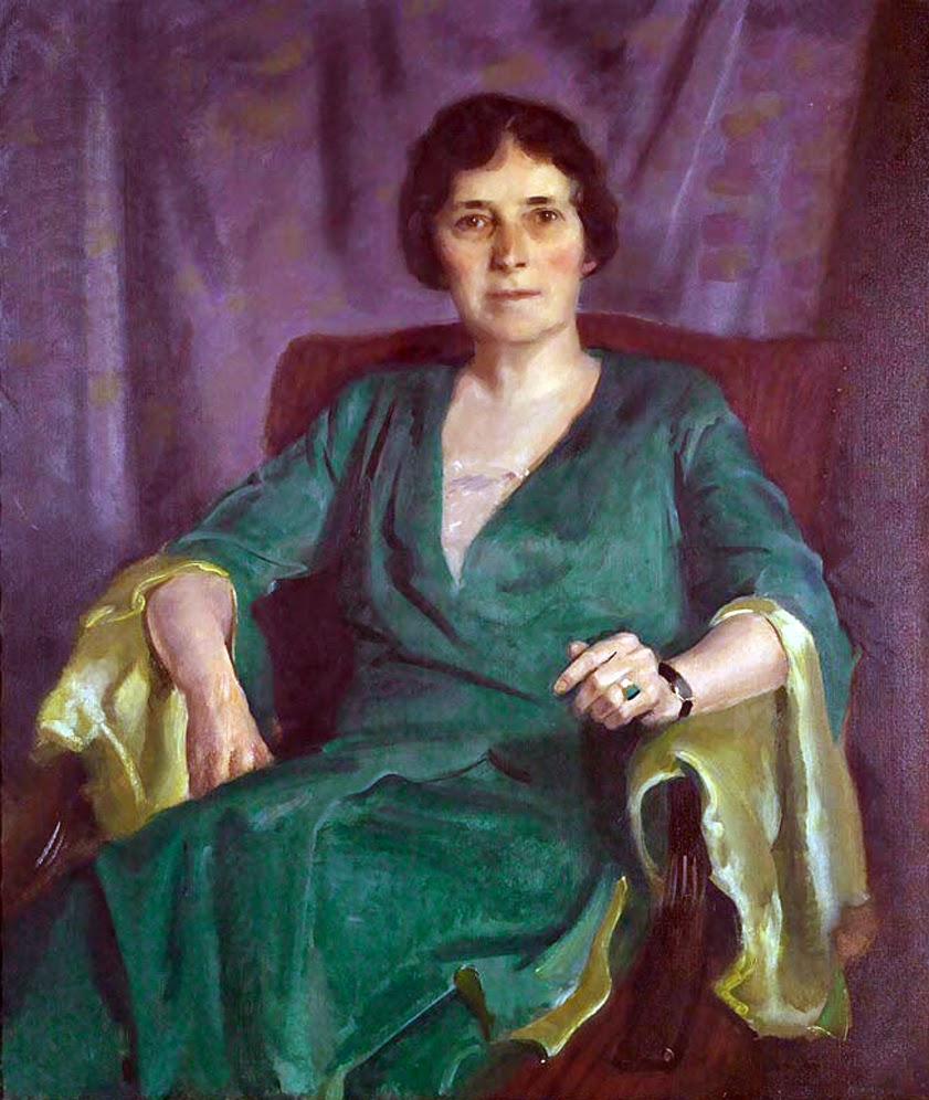 Charles Hopkinson , Mrs. Thomas W. Lamont, International Art Gallery
