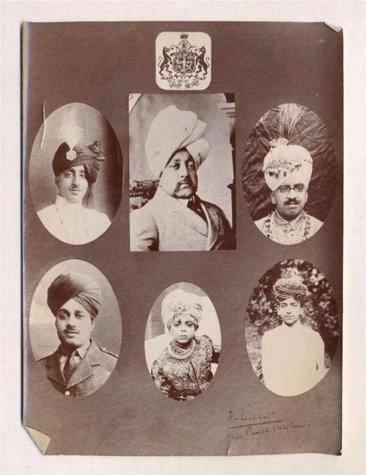 Various portraits of royal family members