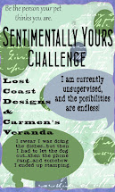 Sentimentally yours Challenge