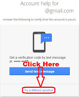 how to recover gmail password without mobile number and recovery mail