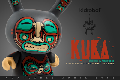 "Kuba 5"" Dunny Vinyl Figure by Mike Fudge x Kidrobot"