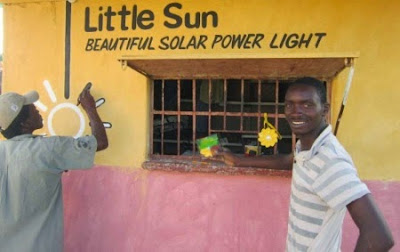 Crowd funding for solar lamps in Zimbabwe